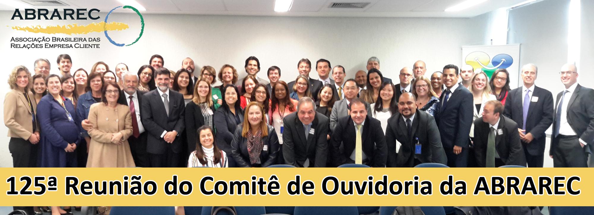 125ª Reunião do Comitê de Ouvidoria da ABRAREC