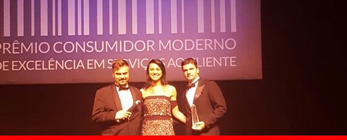 Plusoft é destaque na cerimônia do Prêmio Consumidor Moderno 2017