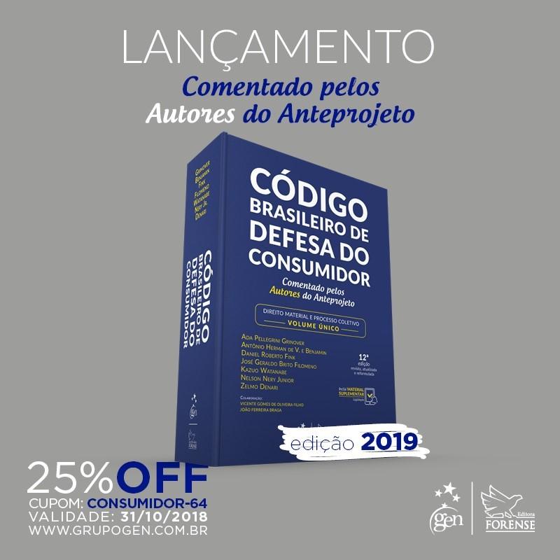 codigo brasileiro de defesa do consumidor lancamento